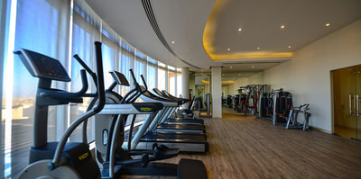 Gym at Simaisma, A Murwab Resort in Qatar