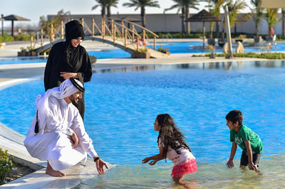 Kids at Simaisma, A Murwab Resort in Qatar